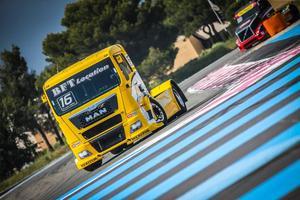 Au mois de septembre, Louis et son camion participeront aux 24H du Mans. Cc LM