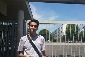 Issam «s'améliore» d'année en année pour gérer ramadan et heures de cours. Cc LH
