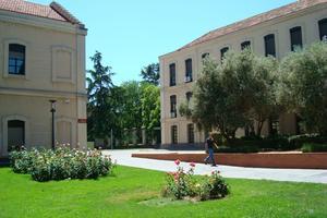 Marie a étudié pendant un an à l'université Carlos III de Madrid (UC3M).