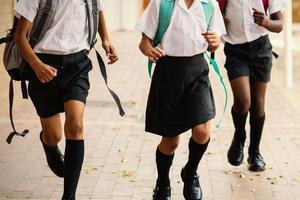Les enfants qui le souhaitent peuvent venir en uniforme.