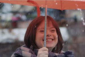 Mélanie a présenté la météo de France 2 en mars.