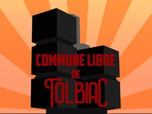 Le logo des bloqueurs de Tolbiac.
