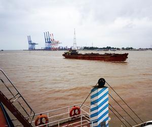 Haiphong, deuxième port du Vietnam.