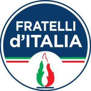 Le logo du parti Frères d'Italie.
