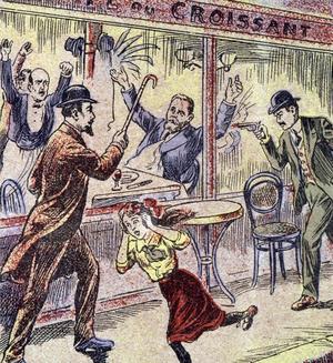 Le 31 juillet 1914, Jean Jaurès est assassiné au restaurant «Le Croissant».