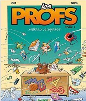 Créée par le dessinateur Pica et le scénariste Erroc, la série Les profs (Bamboo) est aujourd'hui dessinée par Simon Léturgie.