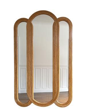 Miroir Maison Jaune Studio.