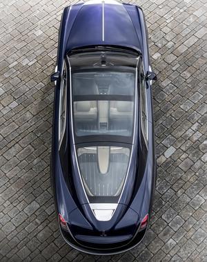 La Rolls-Royce Sweptail est une réalisation unique.