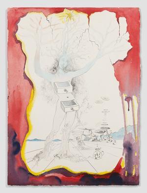 Dans  <i>Daphné</i> (1965), Dali réinterprète le mythe d'Ovide. Les tiroirs font écho à sa Vénus aux tiroirs (1966) qui nous ouvre les portes de l'inconscient (70.000 à 100.000euros).