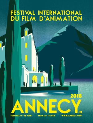 Le festival d'Annecy attire de nombreux étudiants.