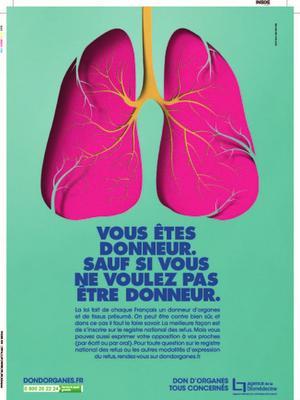 La campagne d'information de l'Agence de Biomédecine débutera le 18 novembre.