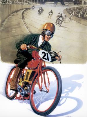 Au guidon d'une moto de la marque, Fritz von Opel (son père, Wilhelm, a été anobli en 1917) remporte la plupart des courses allemandes au début des années 1920.