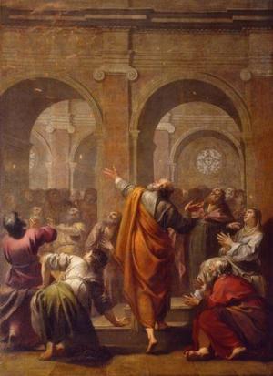 «La descente du Saint-Esprit» par Jacques Blanchard.