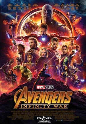 Les Avengers en difficulté dans«Infinity War».