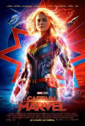 Brie Larson est Carol Denver, alias Captain Marvel.