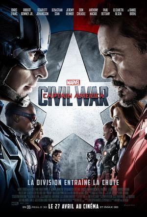 Captain America et Iron Man s'affrontent dans «Civil War».