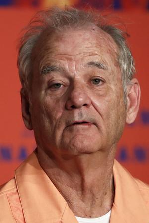 Bill Murray, vêtu d'une chemise orange de taulard, a fait «son» festival.
