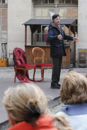 Depuis 24 ans, François de Mazières, maire de Versailles, s'occupe de la programmation du Mois Molière.