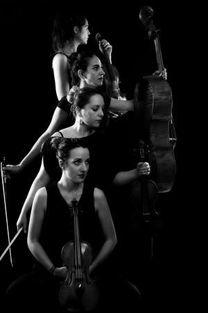 Les quatre musiciennes , en plus de leur tournée, prépare en tant que directrices artistiques, le Festival international de quatuor à cordes du Luberon.