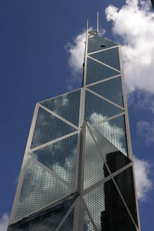 Immeuble de la Bank of China a Hong Kong.