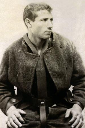 L'anarchiste italien Santo Caserio (1873-1894) qui poignarda mortellement le président de la République française, Sadi Carnot le 24 juin 1894 à Lyon.