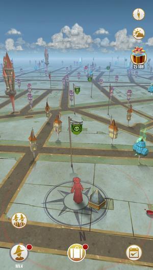 Carte dans «Harry Potter: Wizards Unite».