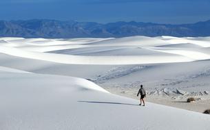 White Sands, le nouveau parc national à découvrir aux États-Unis