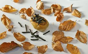 Les recettes de Sébastien Bras: tarte aux cèpes, pommes de terre farcies «au gras» et brindilles de truffe, tarte aux bananes
