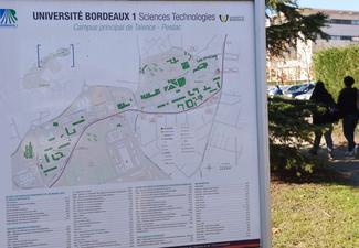 Le campus de Bordeaux I sera rénové à partir de 2018.