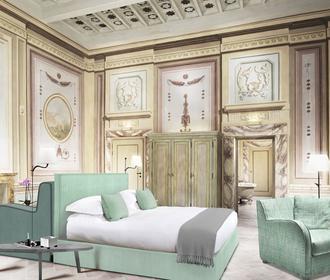 Une chambre du Como Castello Del Nero.