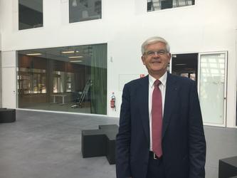 Hervé Biausser, le directeur de CentraleSupelec, était présent au WEI 2017.