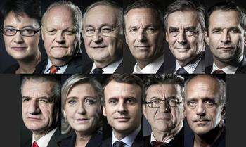 Les primo votants et tous les autres devront faire leur choix parmi l'un des 11 candidats. Crédit photo: AFP.