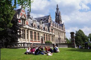 Le campus de Solbosch, le principal de l'ULB. ©Flickr/Henri Bergius