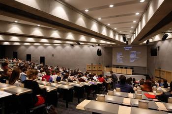 Les cours de l'École du Louvre sont ouverts aux auditeurs libres. ©Hervé Abbadie/École du Louvre