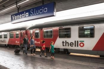 Thello relie Paris à Venise en 14 heures en passant notamment par Milan.