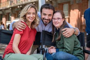 Laura et ses parents dans le film Mention particulière diffusé le 6 novembre sur TF1.