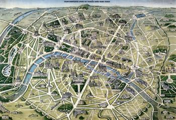 Plan de Paris, 1864