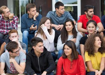 Des jeunes issus de 32 pays différents. © J.Barande