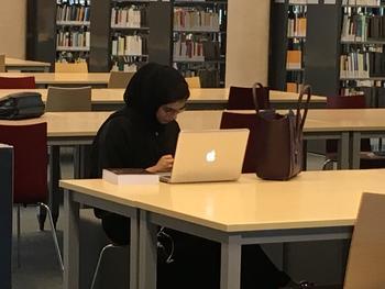 Rare dans la région, l'université est mixte. ©MEPech