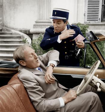 Bourvil et Jean Poiret dans «La grande frousse» de Jean-Pierre Mocky.