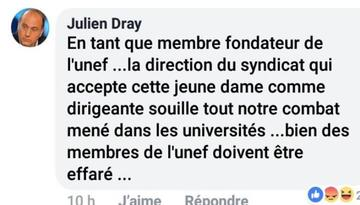 Julien Dray, sur Facebook.