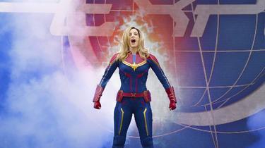 Les super-héros font leur show à Disneyland Paris