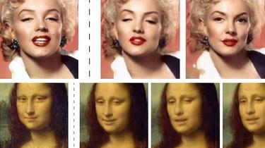 La Joconde, Marilyn Monroe... Une technologie Samsung donne vie à des portraits