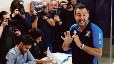 En Italie, Matteo Salvini espère capitaliser sur sa victoire pour imposer son agenda