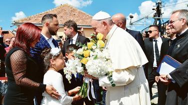 En Roumanie, le Pape demande pardon aux Roms