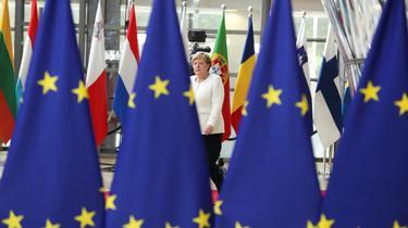 À Bruxelles, Angela Merkel se pose en chancelière du climat