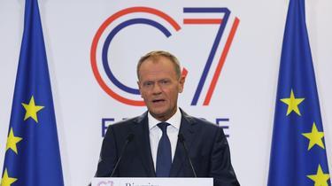 G7 : Donald Tusk veut inviter l'Ukraine plutôt que la Russie