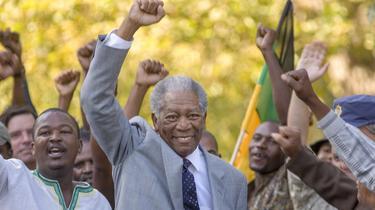 Morgan Freeman dans les pas de Nelson Mandela
