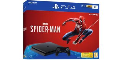 PlayStation Sony PS4 1 To avec Marvel's Spider-Man