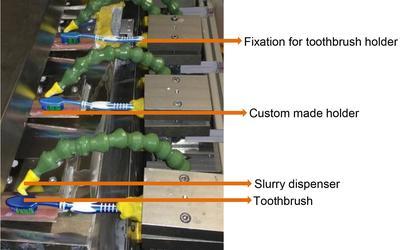 La «machine à brosser» développée par les chercheurs.